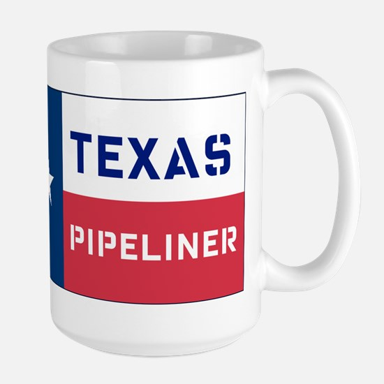 Texas Pipeliner Large Mug