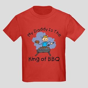 BBQ King Daddy Kids Dark T-Shirt