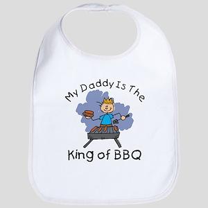 BBQ King Daddy Bib