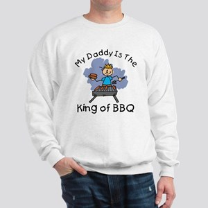BBQ King Daddy Sweatshirt