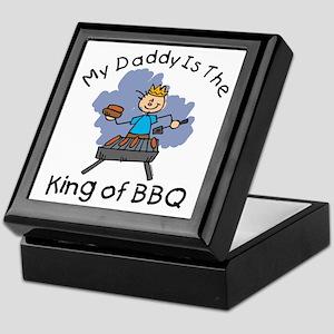 BBQ King Daddy Keepsake Box