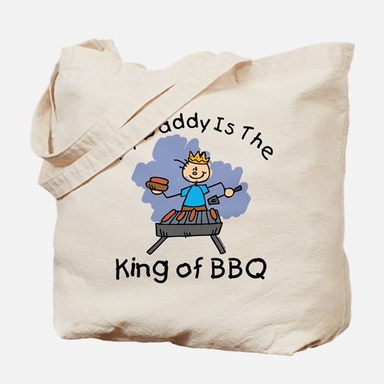 BBQ King Daddy Tote Bag
