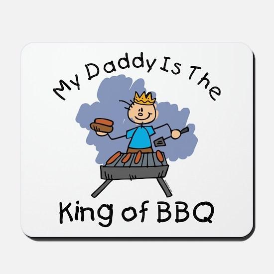 BBQ King Daddy Mousepad