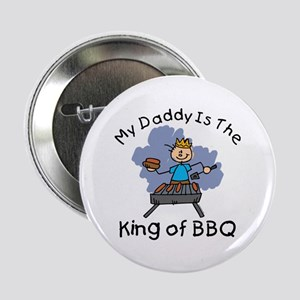 "BBQ King Daddy 2.25"" Button"