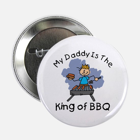 "BBQ King Daddy 2.25"" Button"