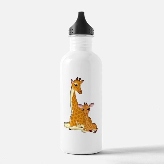 Unique Baby giraffe Water Bottle