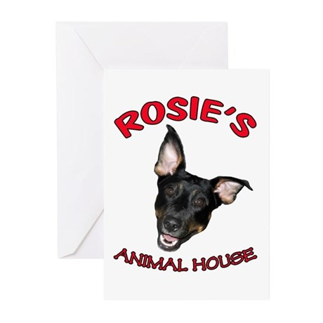 Rosie's Face Greeting Cards (Pk of 20)