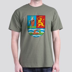 Vojvodina Coat Of Arms Dark T-Shirt