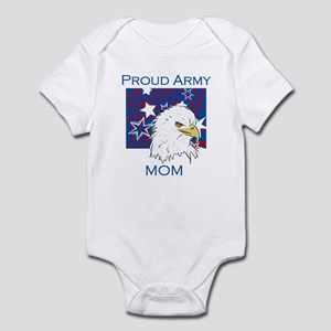 Eagle Proud Army Mom Infant Bodysuit