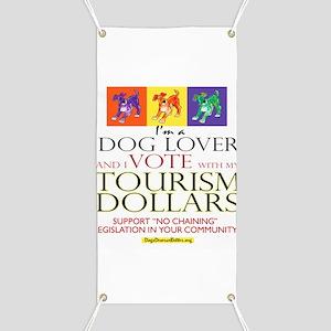 Dog Lover & I Vote: Tourism Banner
