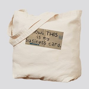 Recession Card Tote Bag