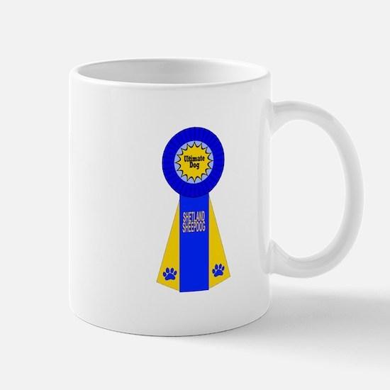 Sheltie Blue Ribbon Mug