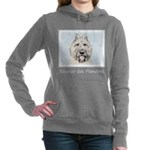 Bouvier des Flandres Women's Hooded Sweatshirt