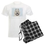 Bouvier des Flandres Men's Light Pajamas