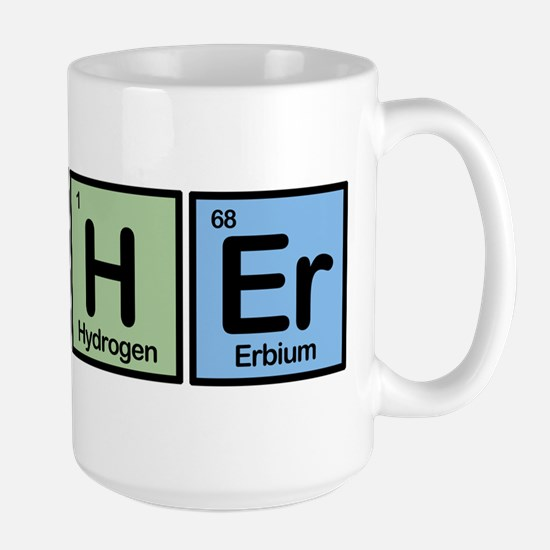 Archer made of Elements Large Mug