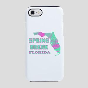 Beach Spring Break Florida iPhone 7 Tough Case