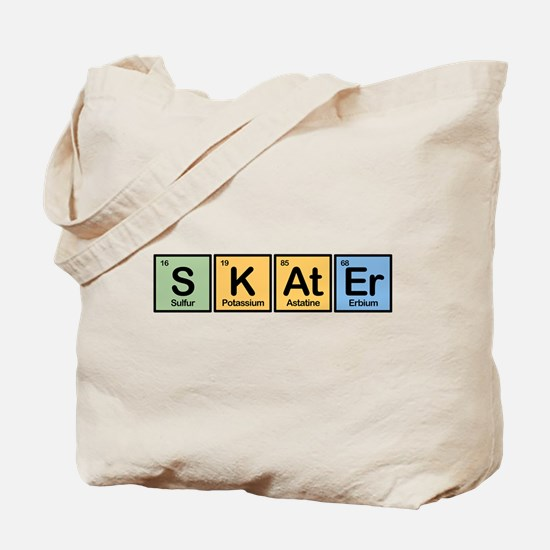 Skater made of Elements Tote Bag