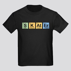 Skater made of Elements Kids Dark T-Shirt