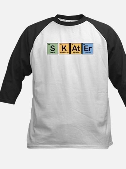 Skater made of Elements Kids Baseball Jersey
