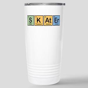 Skater made of Elements Stainless Steel Travel Mug