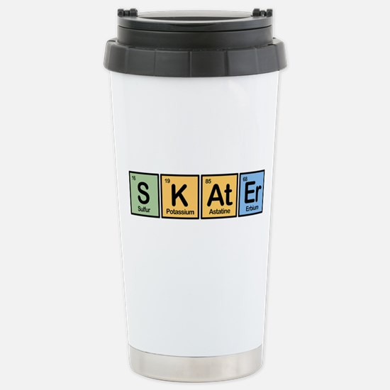 Skater made of Elements Stainless Steel Travel Mug