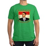 Obama for President of Indonesia Men's Fitted T-Sh