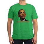 """anti-Obama """"Baggage"""" Men's Fitted T-Shir"""