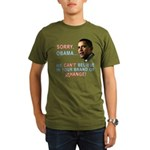 Sorry, Obama! Organic Men's T-Shirt (dark)