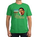 anti-Obama Fool the People Men's Fitted T-Shirt (d