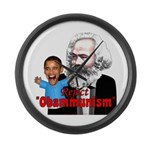 Reject Obammunism anti-Obama Large Wall Clock