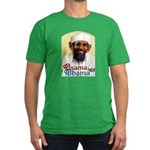 Osama Obama '08 Men's Fitted T-Shirt (dark)