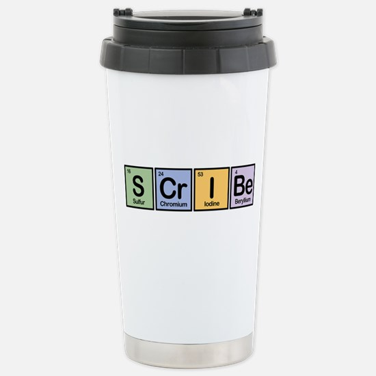 Scribe made of Elements Stainless Steel Travel Mug
