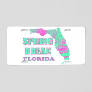 Beach Spring Break Florida Aluminum License Plate