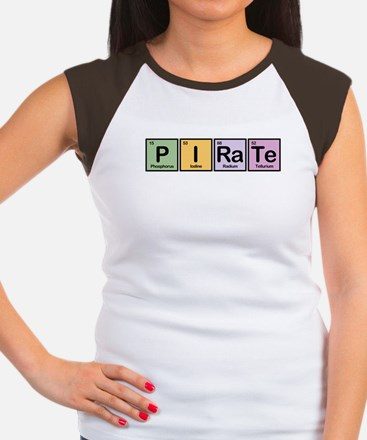 Pirate made of Elements Women's Cap Sleeve T-Shirt