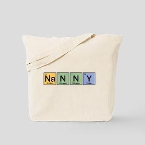 Nanny made of Elements Tote Bag
