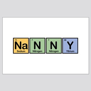 Nanny made of Elements Large Poster