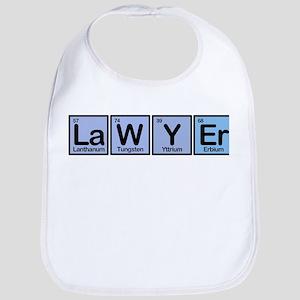 Lawyer made of Elements Bib