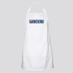 Lawyer made of Elements BBQ Apron