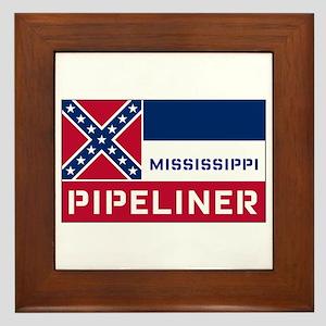Mississippi Pipeliner Framed Tile