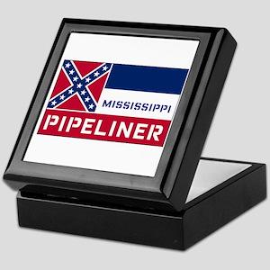 Mississippi Pipeliner Keepsake Box