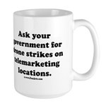 Target Telemarketing! 15 oz Ceramic Large Mug