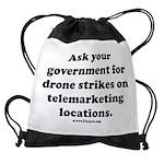 Target Telemarketing! Drawstring Bag