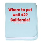 Wall #2? California! baby blanket
