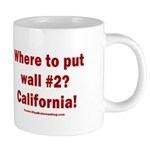 Wall #2? California! 20 oz Ceramic Mega Mug