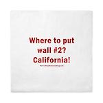 Wall #2? California! Queen Duvet