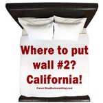 Wall #2? California! King Duvet