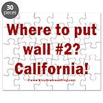 Wall #2? California! Puzzle