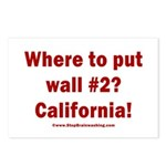 Wall #2? California! Postcards (Package of 8)