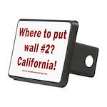 Wall #2? California! Rectangular Hitch Cover