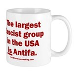 Antifa is Fascist! Duh! 11 oz Ceramic Mug